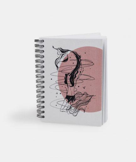 Notizbuch Focused Mermaid